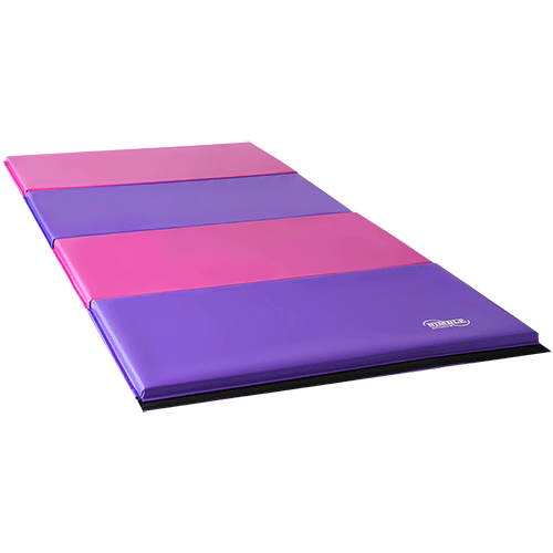 New Pink/Purple Gymnastics Mat Folding Gymnastics Panel
